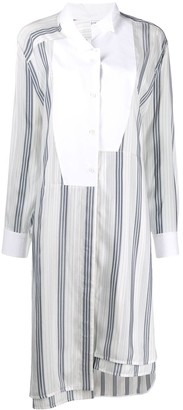 Loewe Off Centre Striped Shirt