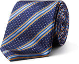 David Jones Spot Stripe Tie