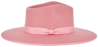 LACK OF COLOR Rose Rancher pink wool felt fedora