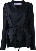CHRISTOPHER ESBER 'Dolman Wrap' blouse - women - Polyester - 12