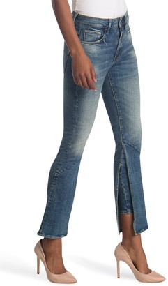 G Star Yonova High Skinny Crop Flare Jeans