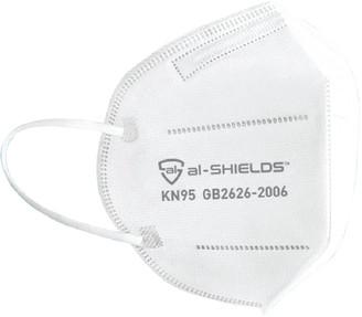 al-SHIELDS KN95 Respirator Face Masks 2 Pack