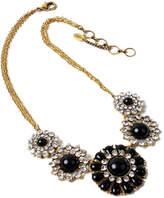 Amrita Singh Crystal & Resin Bib Necklace