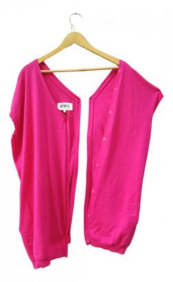 Maison Margiela Pink Cashmere Knitwear