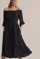 Witchery Off Shoulder Tie Dress