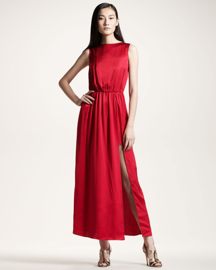Gryphon Flash Dress, Red