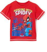 Children's Apparel Network Spider-Man Red Superadventure Tee - Toddler