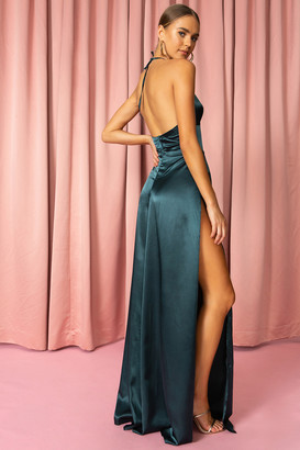 superdown High Slit Maxi Dress