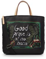 M Z Wallace Library Tote Black Bedford