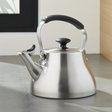 Crate & Barrel OXO ® Classic Brushed Stainless Tea Kettle