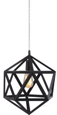 Brayden Studioâ® Chadron 1 - Light Single Geometric Pendant Brayden StudioA