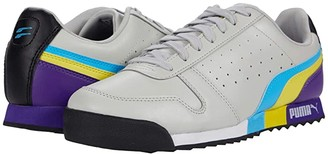 Puma Roma Retro_F (Gray Violet/Luminous Blue/Meadowlark) Men's Shoes