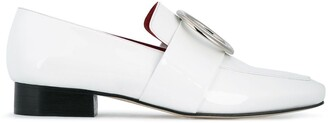 Dorateymur White Patent Leather Harput loafers