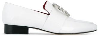 Dorateymur White Patent Leather Harput loafers