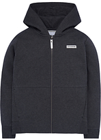 Converse Boys' Zip Fleece Hoodie, Charcoal