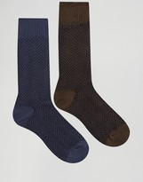Selected Homme Boot Socks 2 Pack