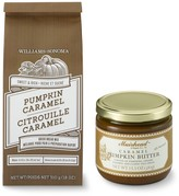 Williams-Sonoma Pumpkin Caramel Quick Bread Mix & Caramel Pumpkin Butter