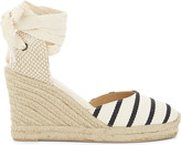 Soludos Striped espadrille wedge sandals