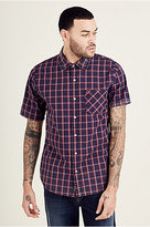 True Religion Plaid Woven Mens Shirt