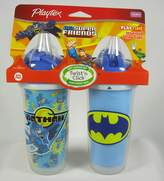 Playtex DC Super Friends Playtime Insulated Straw Cups No BPA, styles and colors may vary