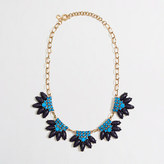 J.Crew Factory Factory flower fringe necklace