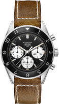 Tag Heuer Tag CBE2110FC8226 Autavia 02 stainless steel and leather chronograph watch