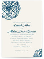 Minted Ornamental Wedding Invitations