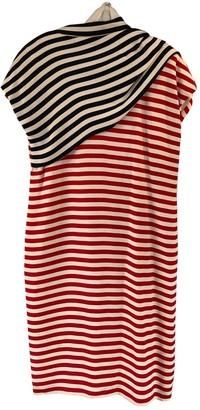Bill Blass Red Silk Dress for Women