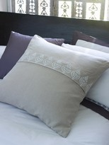 Lom Bok Thistle Design Linen Cushion