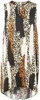 Dorothy Perkins Animal trim shift dress