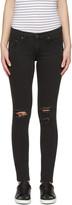 Rag & Bone Black Skinny Jeans