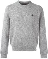 Z Zegna logo detail jumper - men - Cotton/Polyester/Spandex/Elastane/Rayon - M
