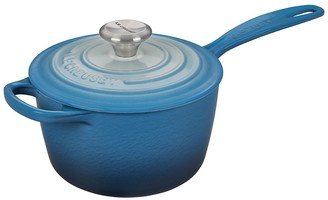 Le Creuset Limited Time Blue Ombre 1.75 qt. Signature Saucepan