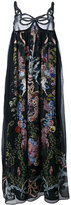 Fendi floral-print maxi dress - women - Silk - 40