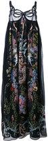 Fendi floral-print maxi dress