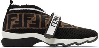 Fendi Black Forever Rockoko Sneakers