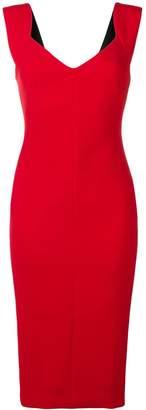 Victoria Beckham fitted sleeveless dress