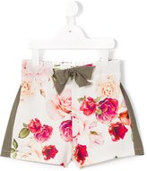 Monnalisa Jakioo floral print shorts