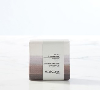 Pottery Barn Union St. Elixir Relaxing French Lavender Bar Soap