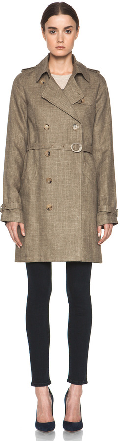 A.P.C. New Classic Trench in Beige