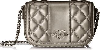 Love Moschino Borsa Quilted Metall.nappa Pu Womens Shoulder Bag