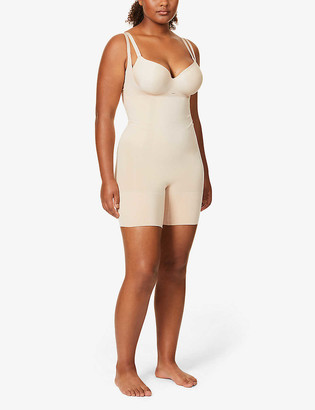 Spanx Oncore open-bust stretch-jersey body