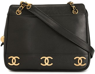 Chanel Pre Owned Triple CC shoulder bag