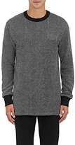 Nlst Men's Waffle-Knit Sweater-Black Size S