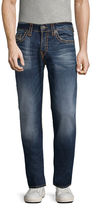 True Religion Rocco Whiskering Cotton Skinny Jeans