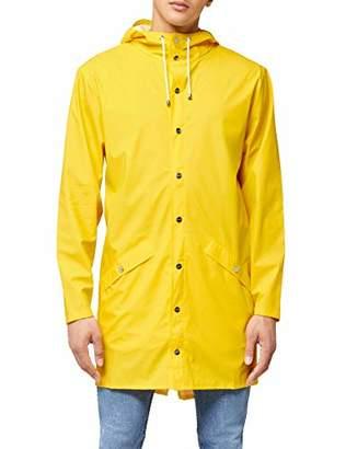 Rains Men's Long Jacket Raincoat,Small/Medium