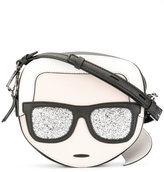 Karl Lagerfeld crossbody bag - women - Leather - One Size