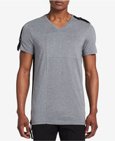Calvin Klein Men's Drop-Tail V-Neck T-Shirt