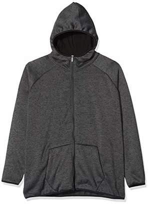 Urban Classic Men's Knit Fleece Zip Hoody,4X-Large