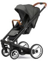 Mutsy Igo Urban Nomad Stroller in Black/Dark Grey